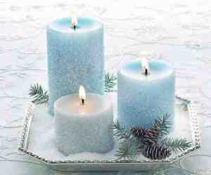 candles, winter, and epsom salt image