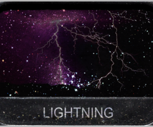 eye shadow and lightning image