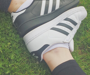 adidas, best friends, and black and white image