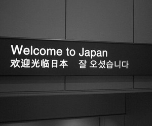 japan, welcome, and japanese image