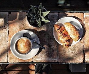coffe, food, and morning image
