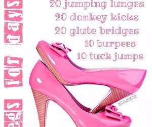 health, workouts, and legs image
