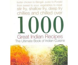 good indian recipes, great indian recipes, and 1000 great indian recipes image