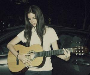 lana del rey, guitar, and grunge image