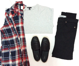 black, newlook, and flannel image