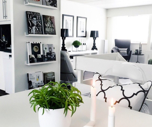 interior, room, and white image