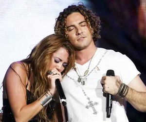 miley cyrus and david bisbal image