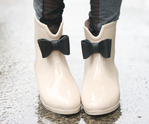 boots, shoes, and rain image