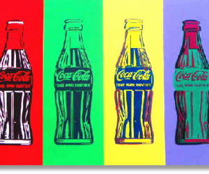 art, cocacola, and color image