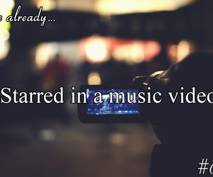 camera, film, and music video image