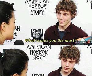 evan peters, funny, and ahs image