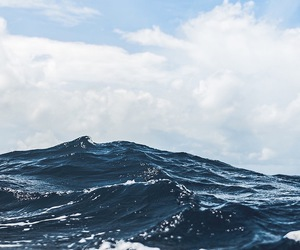 ocean, sky, and blue image