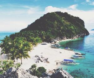 beach, summer, and Island image
