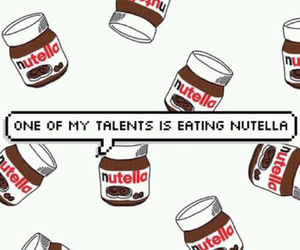 nutella, talent, and food image