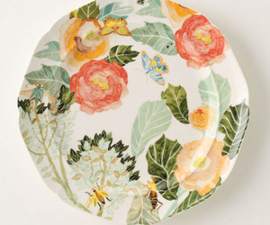 watercolor, pattern, and Anthropologie image