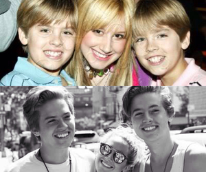 ashley tisdale, cole sprouse, and childhood image