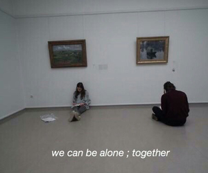 alone, always, and couple image