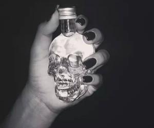 calavera, nails, and skull image