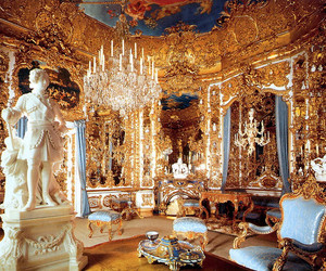 bavaria, castle, and gold image