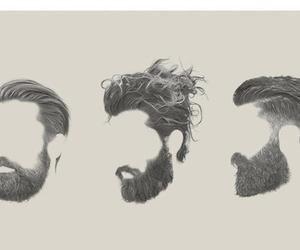 hair and beard image