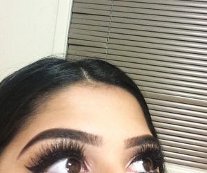 eyebrows, eyelashes, and hair image