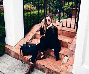blogger, booties, and shoe image