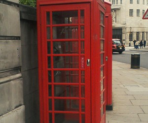 cabine telephonique, london, and Londres image