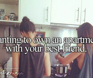best friends, apartment, and friends image
