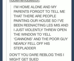 funny, les miserables, and painting image