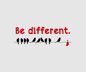 different, quote, and be image