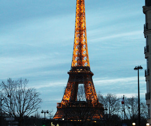 paris, background, and eiffel tower image