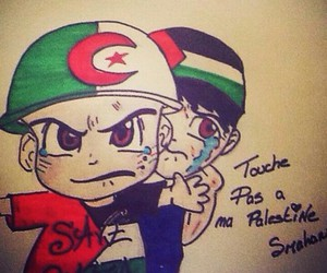 Algeria, palestine, and algerienne image