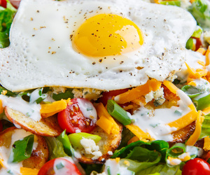 breakfast, health, and omelette image