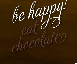 chocolate, frase, and quote image