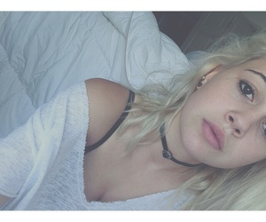 beauty, grunge, and blondehair image