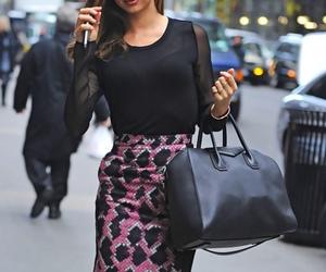 fashion, miranda kerr, and dress image