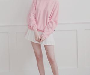 kfashion, korean fashion, and skirt image