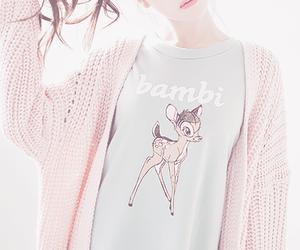 pink, bambi, and kfashion image