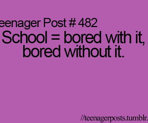 teenager post and school image