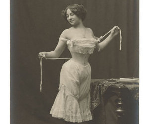 corset and vintage image