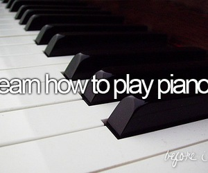 learn how to play piano. image