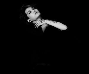 black and white, exo, and kai image