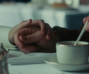 coffee, atonement, and hands image