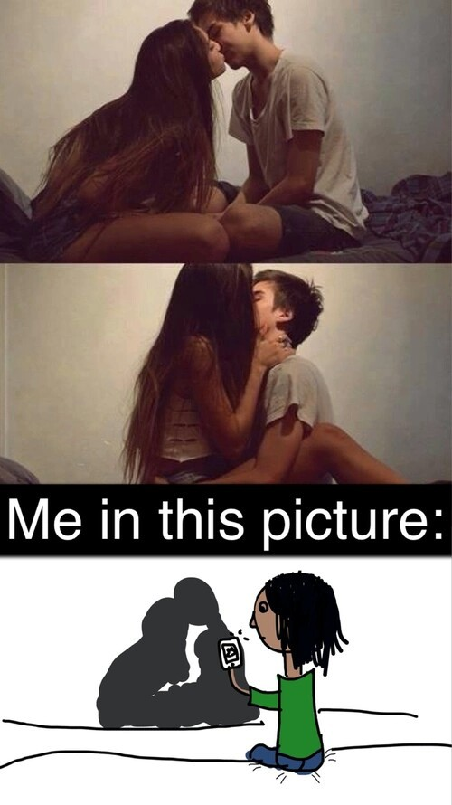 funny, me, and alone image