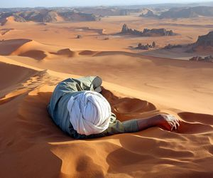 desert, photography, and Algeria image