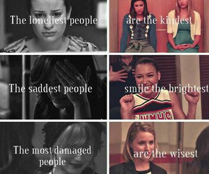 glee, sad, and rachel berry image