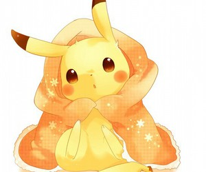 adorable, blanket, and chibi image