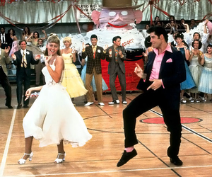 70's, grease, and movie image