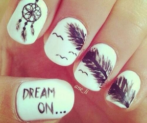nails, Dream, and dream on image