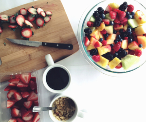 fruit, breakfast, and coffee image